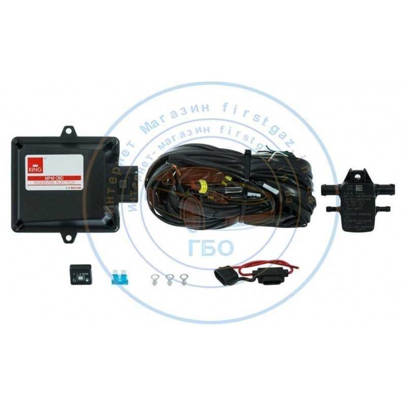 Блок управления Stag-4 Qbox Plus